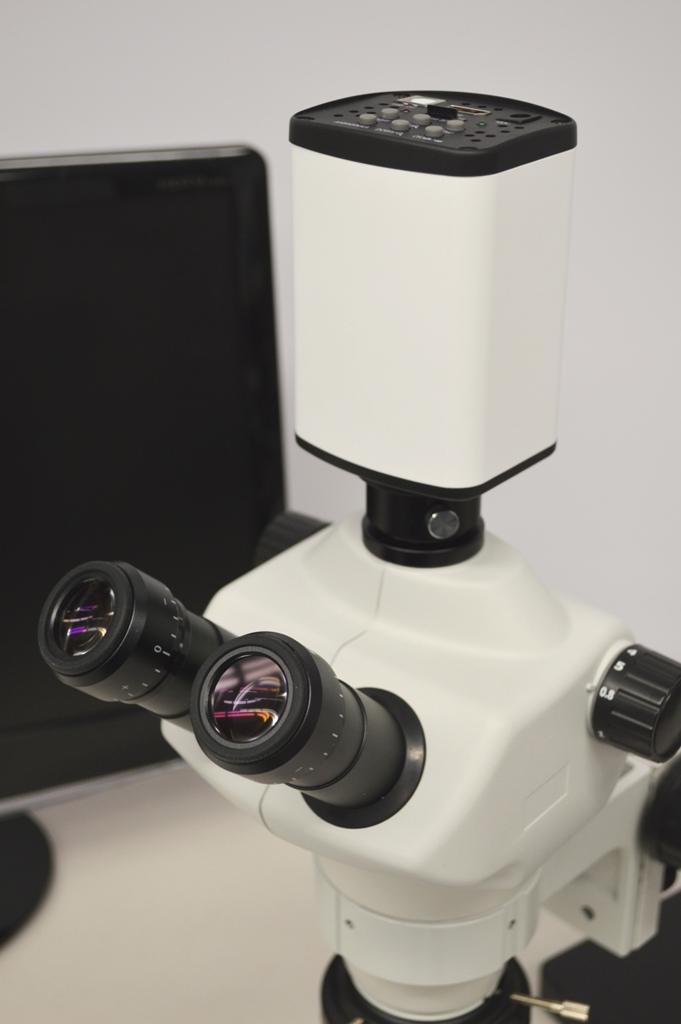 HD60T 1080p HD 6MP microscope camera with microscope 1