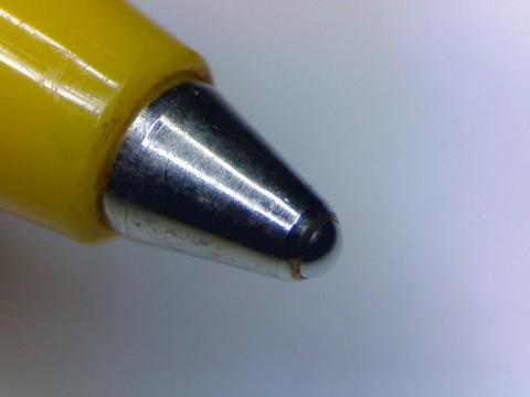 ball point pen tip