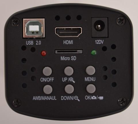 HD-60T top control panel