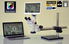 Stereo Zoom LCD Microscope